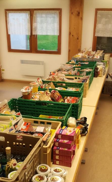 Alle diese Lebensmittel wären sonst entsorgt worden...